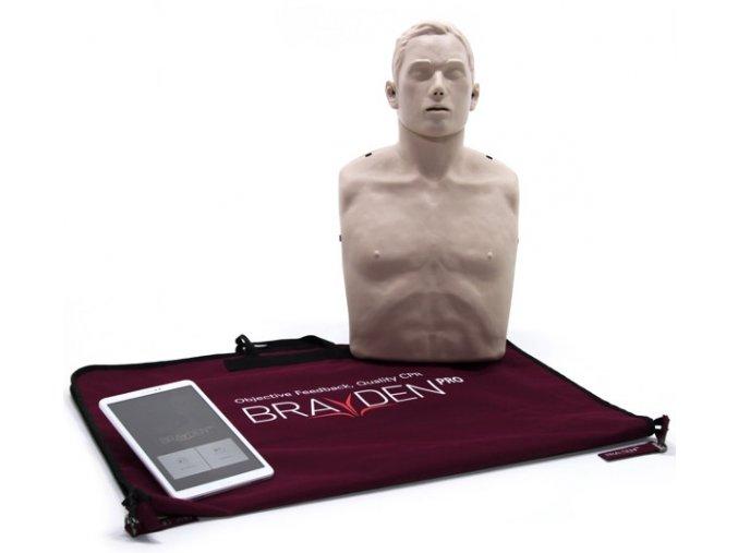 Resuscitační figurína dospělého Brayden Pro s vizualizací průtoku krve a bluetooth modulem