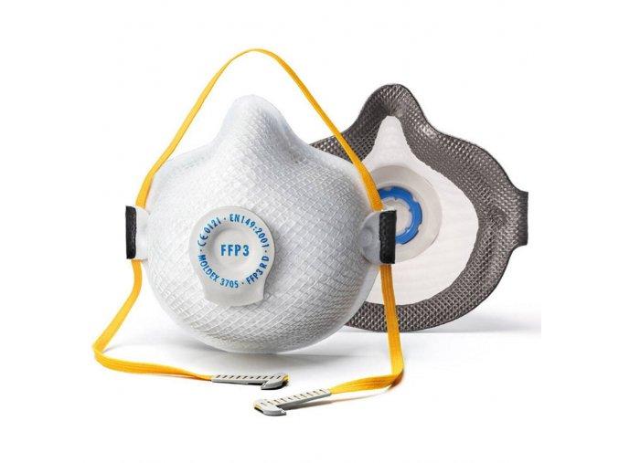 Ochranný respirátor Air Seal FFP3 proti virům a bakteriím