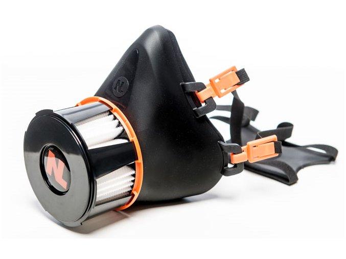 Ochranná polomaska Respira Compact s nanovláknovým filtrem P2