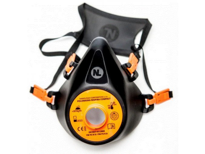 Ochranná obličejová polomaska Respira Compact