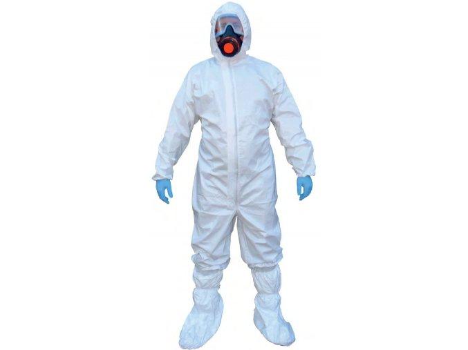 Zdravotnická ochranná kombinéza Protect Safe K2 s návleky třída III kat. 4,5,6
