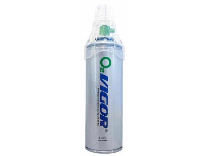 Kyslík ve spreji O2VIGOR 8l