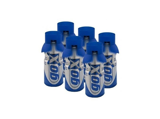 Kyslíkový sprej goX sada 6 x 4l