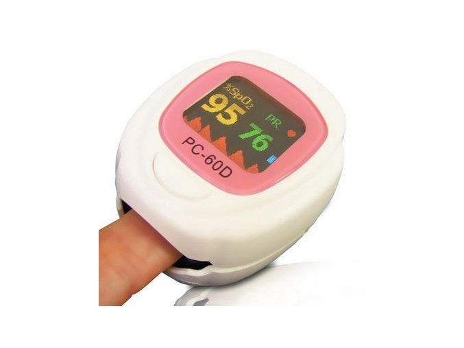 Pediatrický prstový pulsní oxymetr PC-60D