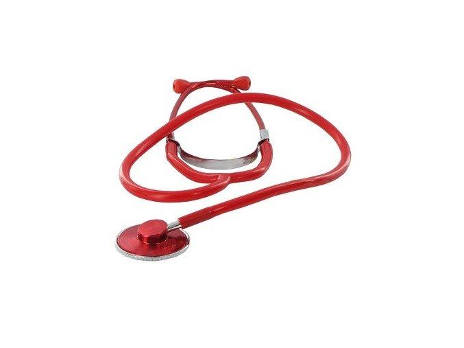 Fonendoskop Camedio standardní jednostranný červený