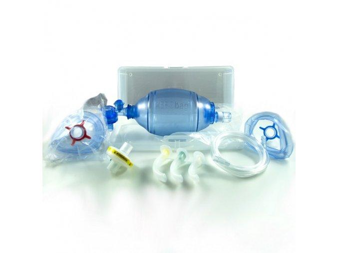 Resuscitační sada Aerobag v transparentním kufříku