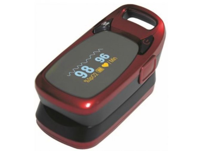 Prstový pulsní oxymetr CR 60 s ochranou proti prachu jpg