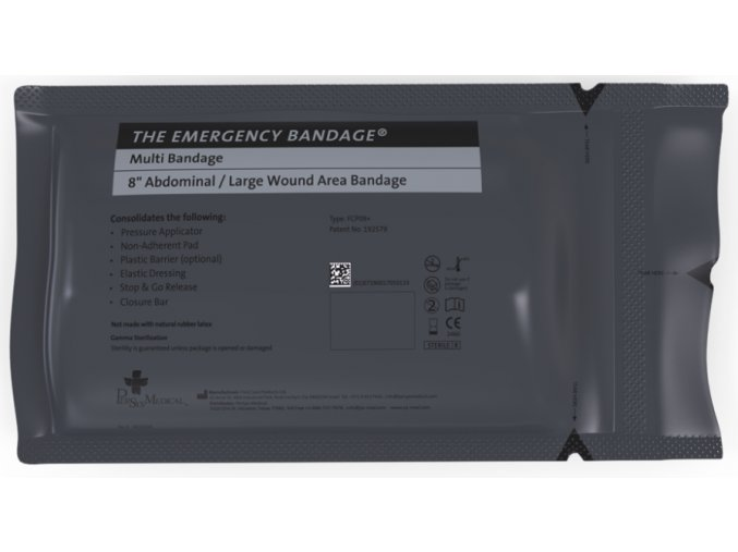 Izraelský tlakový obvaz FCP 05 15x18 cm