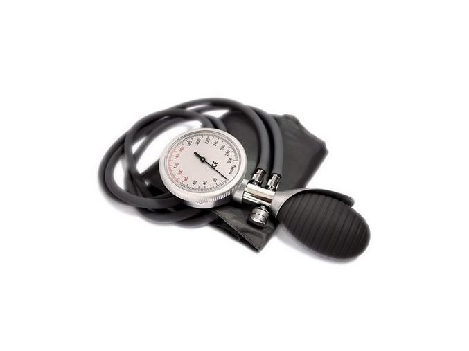 Dvouhadičkový aneroidní tlakoměr PREMIUM II