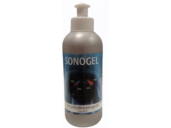 Ultrazvukový Sonogel 250 ml