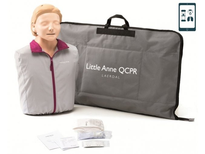 Resuscitační model Little Anne QCPR