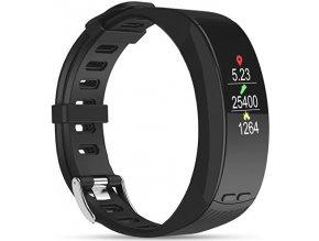 Fitness náramek Deveroux P5 s GPS černý