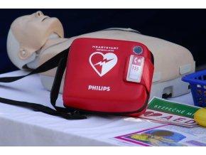Brašna s popruhem pro defibrilátor HeartStart FRx