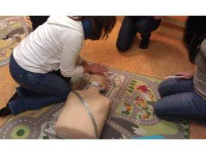 Externí adaptér k výukovým elektrodám pro AED