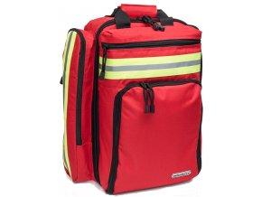 Zdravotnický batoh Rescue Red s ochranou proti dešti