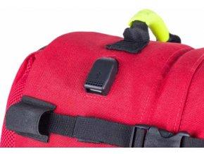 Zdravotnický batoh Paramed s přídavnými brašnami
