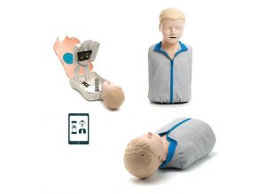 Resuscitační model dítěte Little Junior QCPR pohled