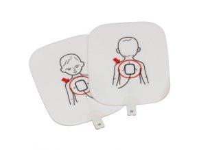 Výukové dětské elektrody k AED Prestan