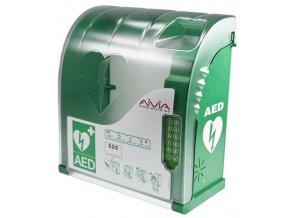 Venkovní uzamykatelný box na AED AIVIA 210