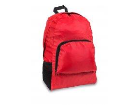 Ultralehký skládací batoh červený