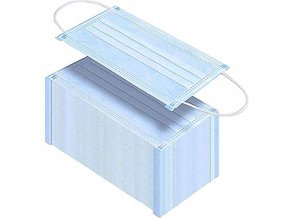 Zdravotnické ústenky Omnimask Comfort modré