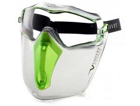 Ochranné brýle Univet 6x3 s obličejovým štítem