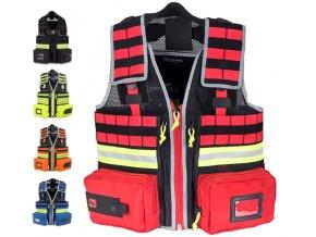 Záchranářská multifunkční vesta Chaleco Emergency Vest