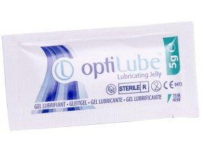 Lubrikační gel na zdravotnické pomůcky Optilube 5g