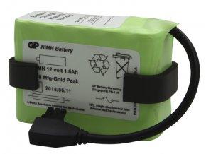 Náhradní baterie 12V NiMH pro odsávačku Laerdal LCSU4 s kabelem