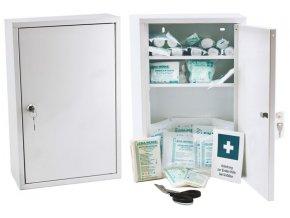 Kovová lékárnička Medisan B s náplní DIN 13157
