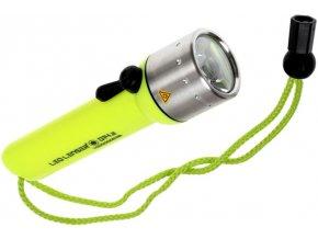 Vodotěsná svítilna Led Lenser D14.2 pro potápění s poutkem