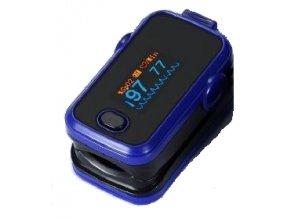 Prstový pulsní oxymetr CR 50 modrý