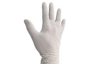 Vinylové vyšetřovací bezpudrové rukavice