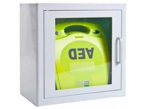 AED ZOLL Plus v alarmové skříňce