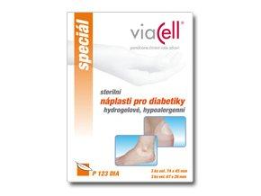 Hydrogelová náplast pro diabetiky P123