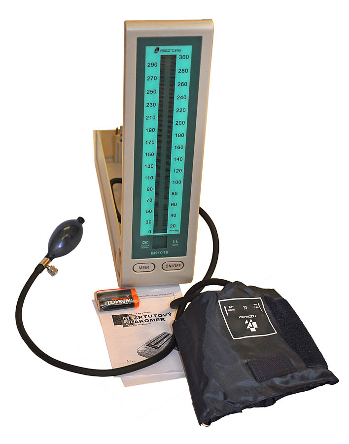 Bezrtuťový tonometr BK 1016