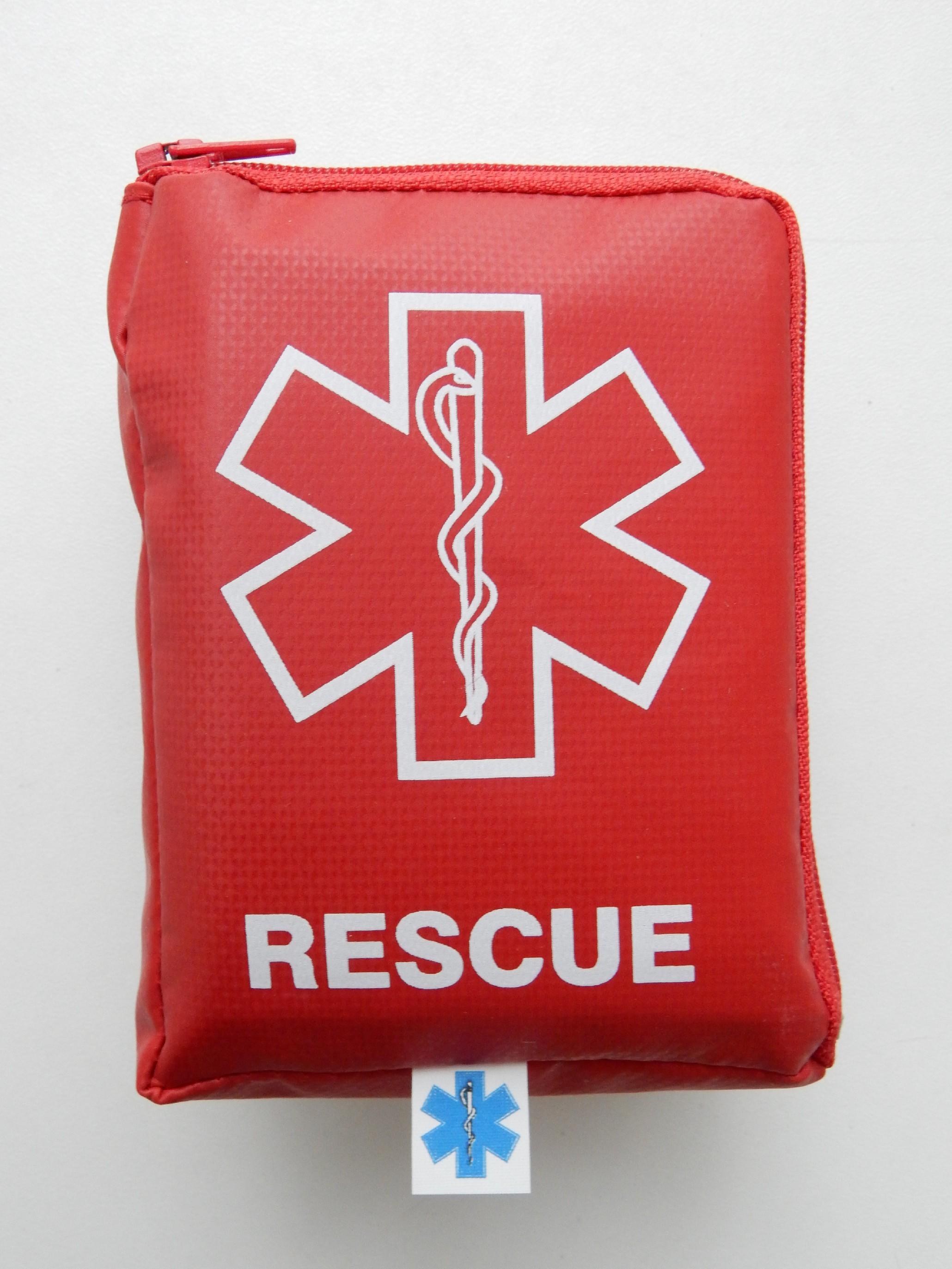 Lékárnička Outdoor Rescue Barva:: Červená