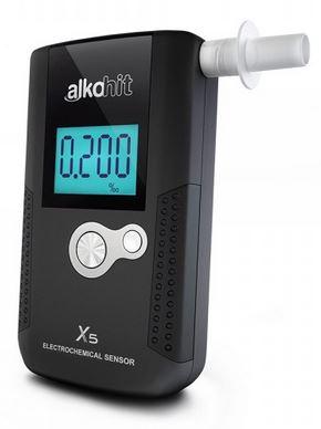 Digitální alkohol tester ALKOHIT X5
