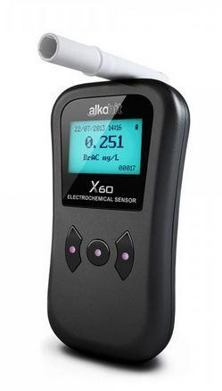 Digitální profesionální alkohol tester ALKOHIT X60