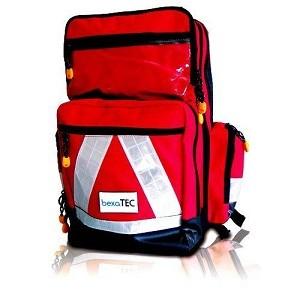Zdravotnický batoh Bexatec Pro Large Edt - vybavený BASIC Barva: Červená