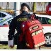 Záchranářský zdravotnický batoh Paramed Red XL použití