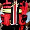 Záchranářská multifunkční vesta Chaleco Emergency Vest použití