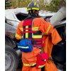 Záchranářské technické pouzdro RELEASE na nohu v praxi