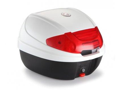AZ30 Moto kufr bílý 30 litrů