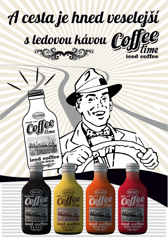 Ledová káva s vynikající chutí a aroma