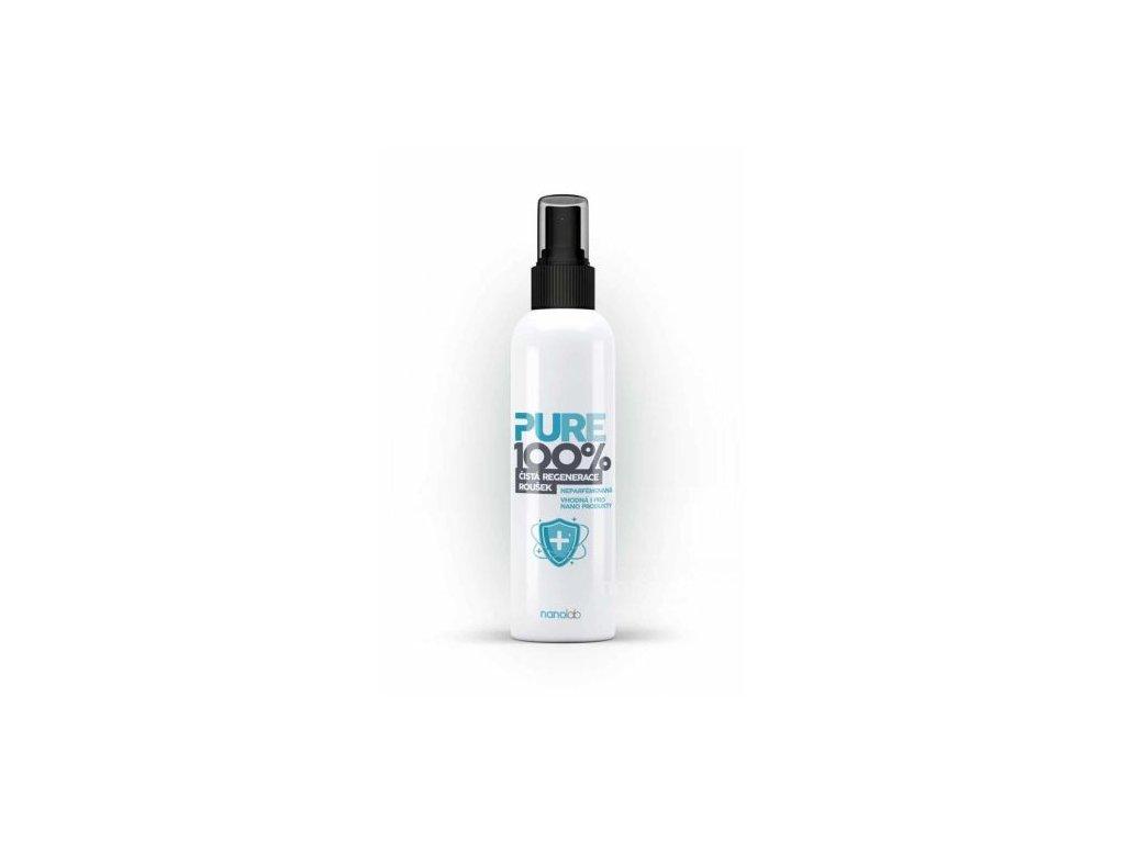 Pure 100%: Dezinfekce respirátorů a roušek SPREJ - ethanolová 100 ml