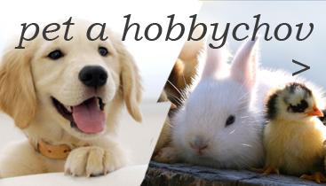 do sekce PET a HOBBYCHOV