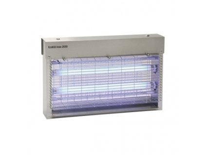 Hubič much elektrický EcoKill Inox 2040 nerez, 2 x 20 W