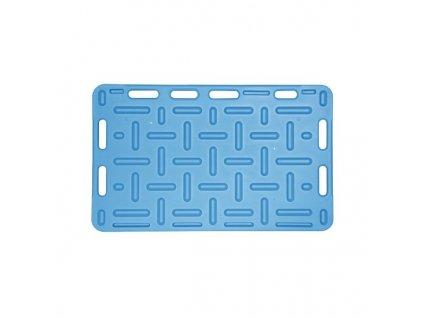 Zábrana dělící a naháněcí, 126 x 76 x 2,5 cm, modrá