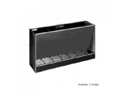 Automatické krmítko, samokrmítko pro prasata Domino F 900/3 D